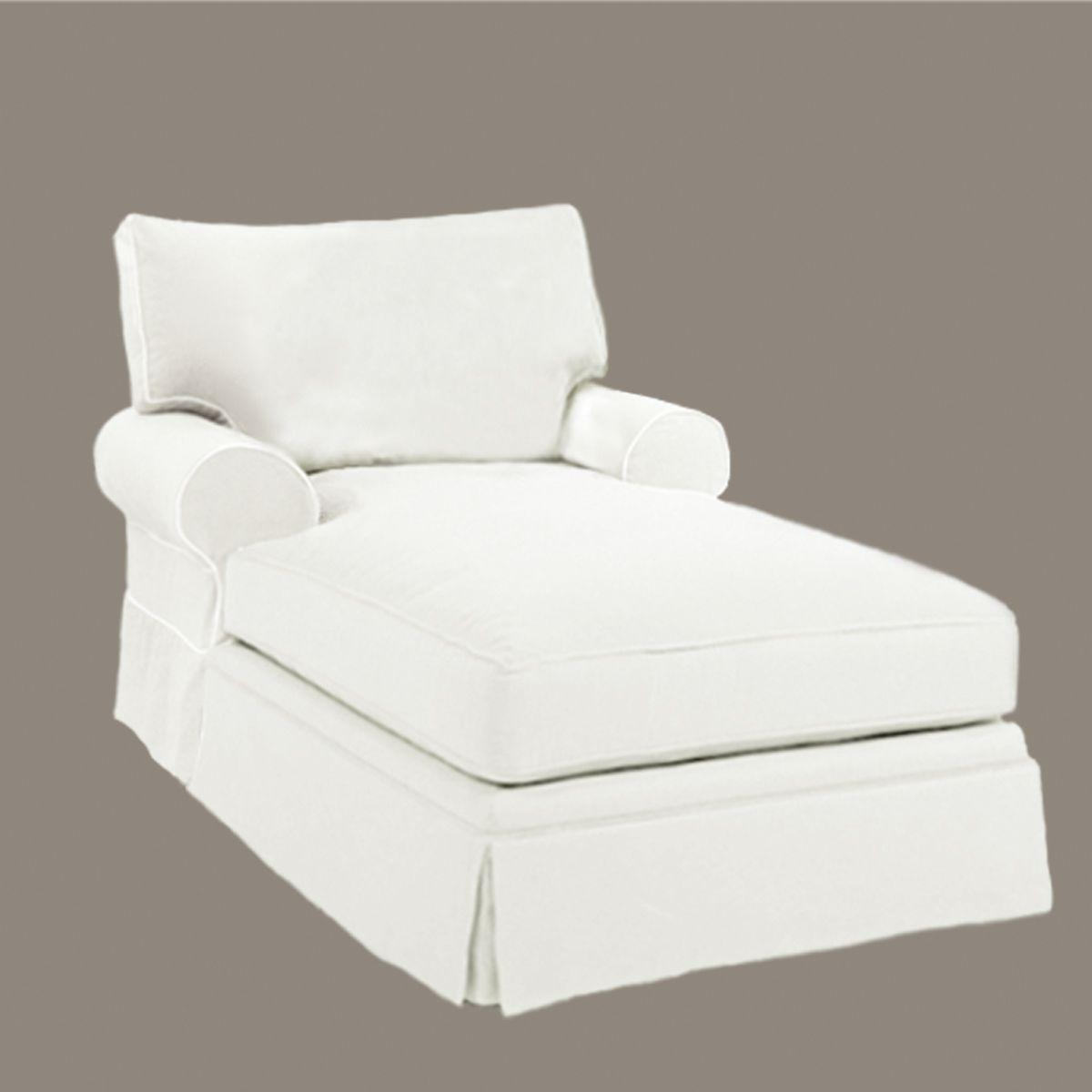 20 Collection Of Slipcovered Chaises Sofa Ideas