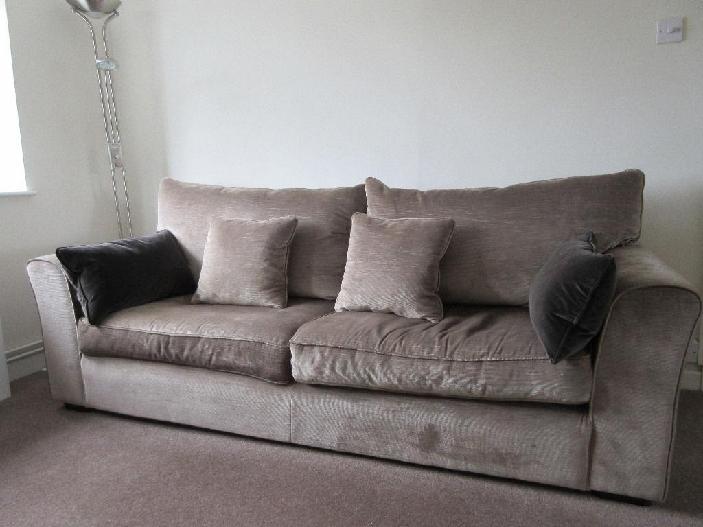 Collins And Hayes Remus Large 4 Seater & Medium 3 Seater Sofa In For Large 4 Seater Sofas (Image 3 of 20)