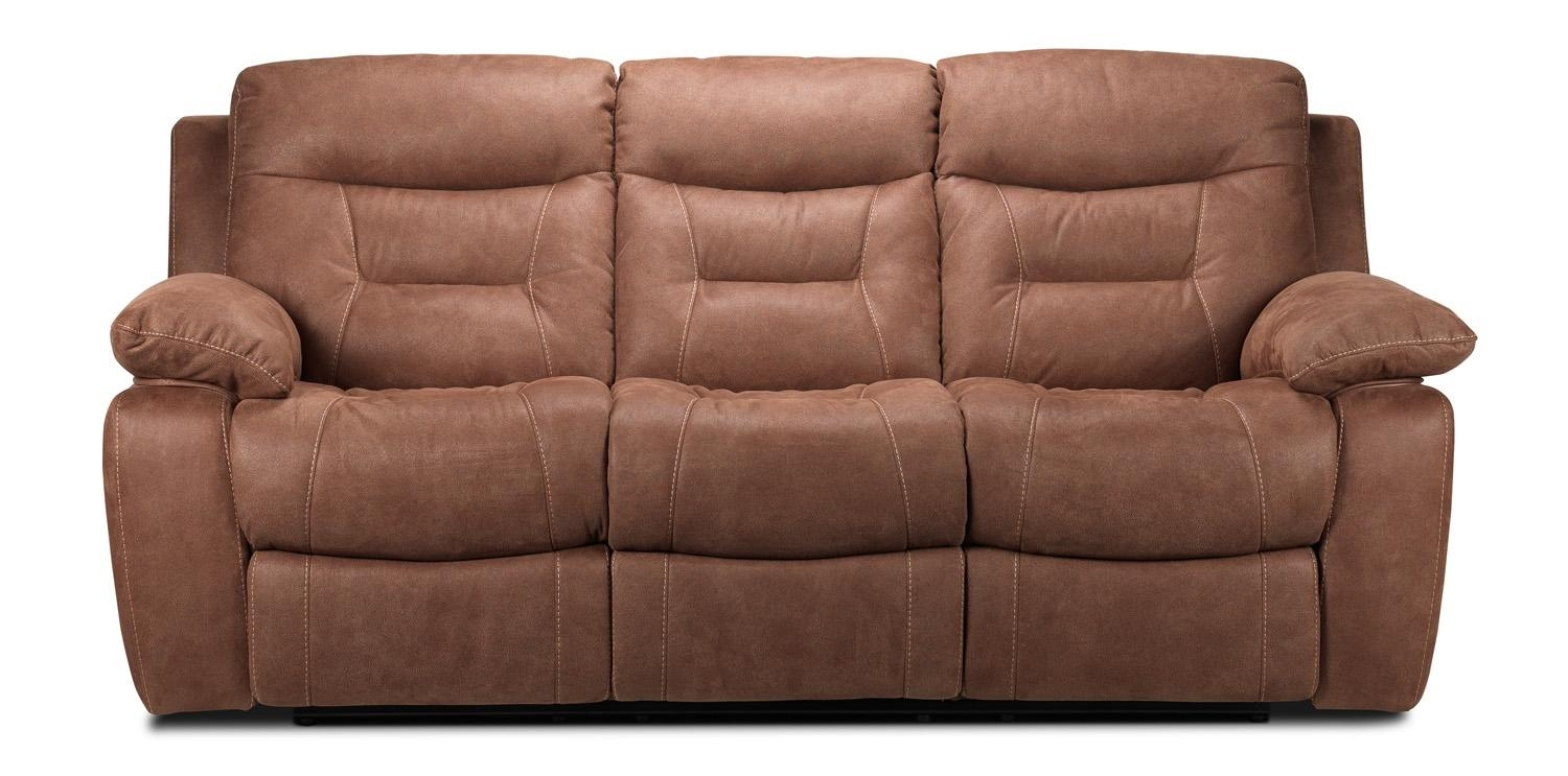 Collins Power Reclining Sofa – Hazelnut | Leon's With Regard To Collins Sofas (Image 2 of 20)