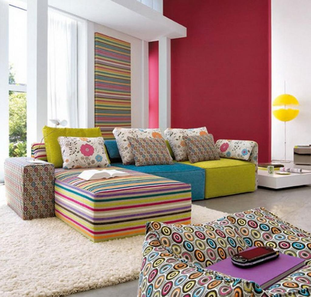 Featured Image of Colorful Sofas And Chairs