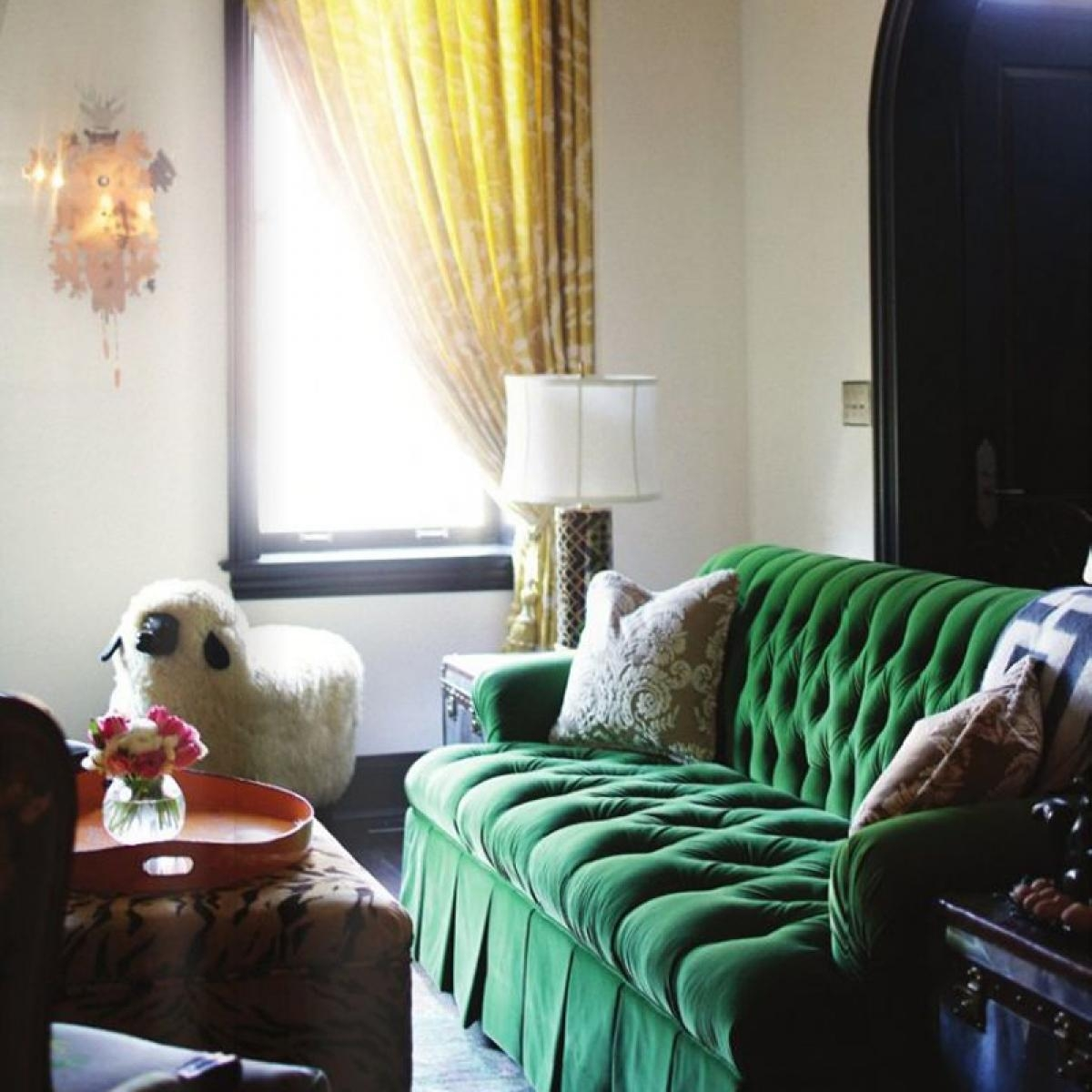 Colour Crush: Emerald Green – Sophie Robinson In Emerald Green Sofas (View 7 of 20)