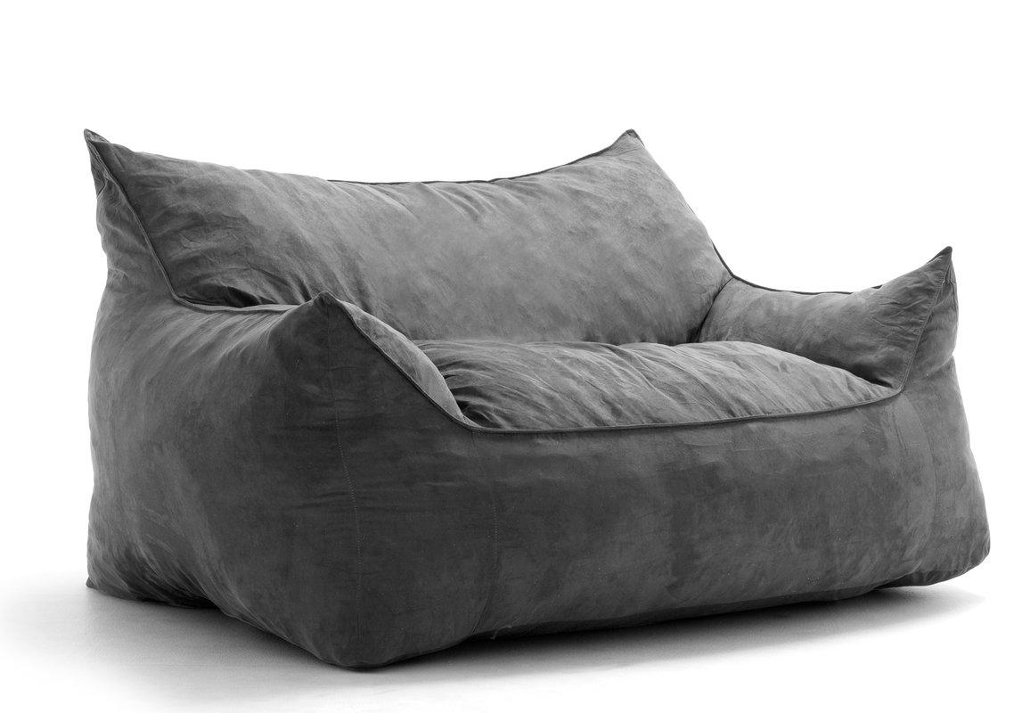 Comfort Research Big Joe Imperial Bean Bag Sofa & Reviews | Wayfair For Big Joe Sofas (Image 12 of 20)