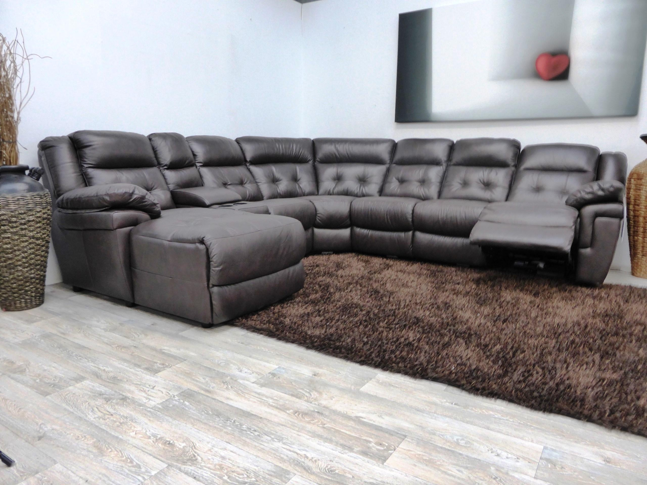 Comfortable Leather Sectional Sofa With Recliner And Chaise Regarding Comfortable Sectional (Image 4 of 15)