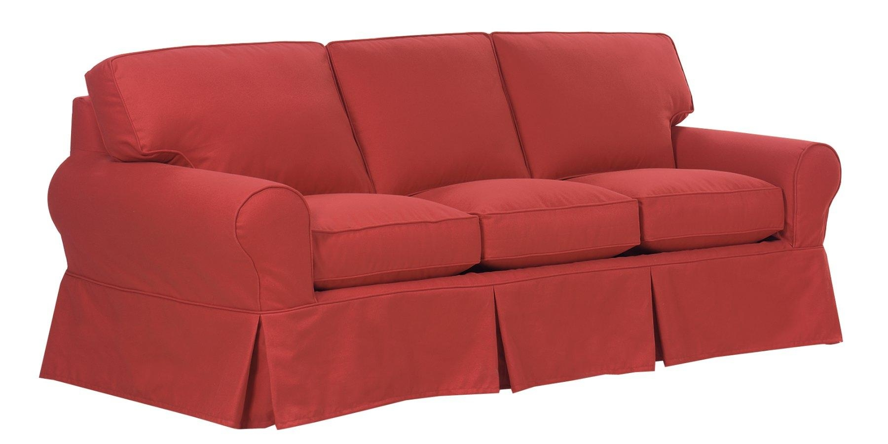 Comfortable Slipcovered Furniture, Slipcover Sofas, Couches For Slipcovers For Sofas And Chairs (Image 4 of 20)