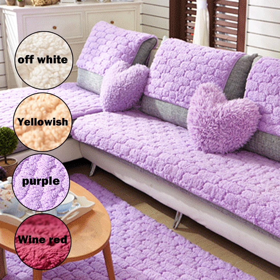 Compare Prices On Couch Covers Slipcovers Online Shopping/buy Low With Eco Friendly Sectional Sofa (View 11 of 15)