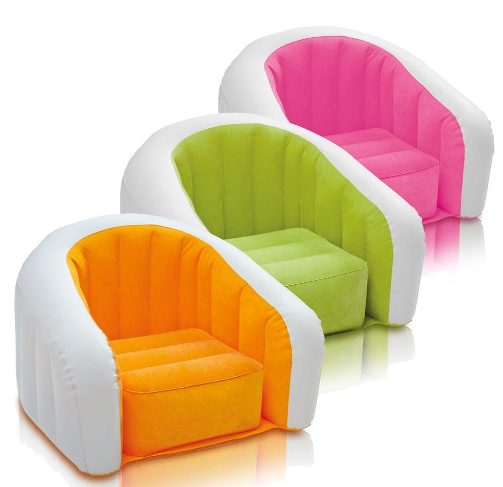 Compare Prices On Flocked Inflatable Sofa Bed  Online Shopping/buy Regarding Inflatable Sofas And Chairs (Image 2 of 20)