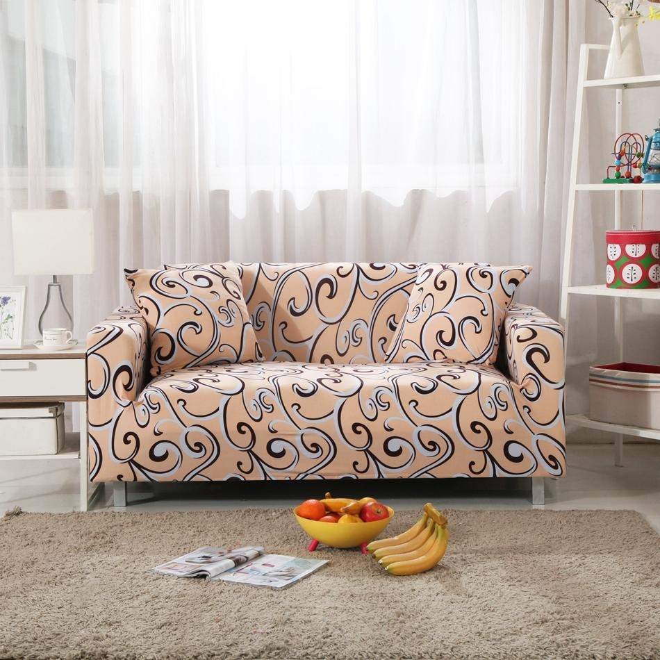 Compare Prices On Patterned Sofa Covers  Online Shopping/buy Low Within Patterned Sofa Slipcovers (Image 5 of 20)