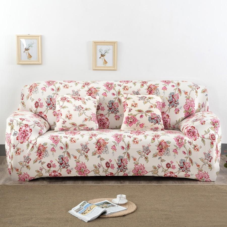 Compare Prices On Sofa Cover Pattern  Online Shopping/buy Low Inside Patterned Sofa Slipcovers (Image 6 of 20)