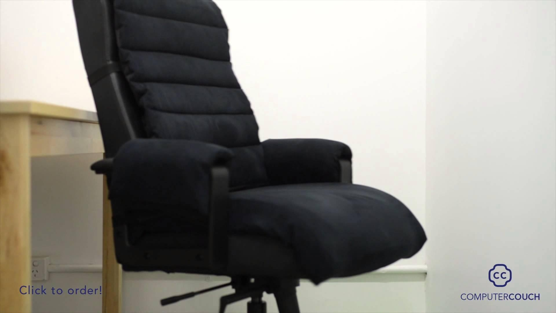 Computer Couch: Turn Your Computer Chair Into A Comfortable Couch in Sofa Desk Chairs