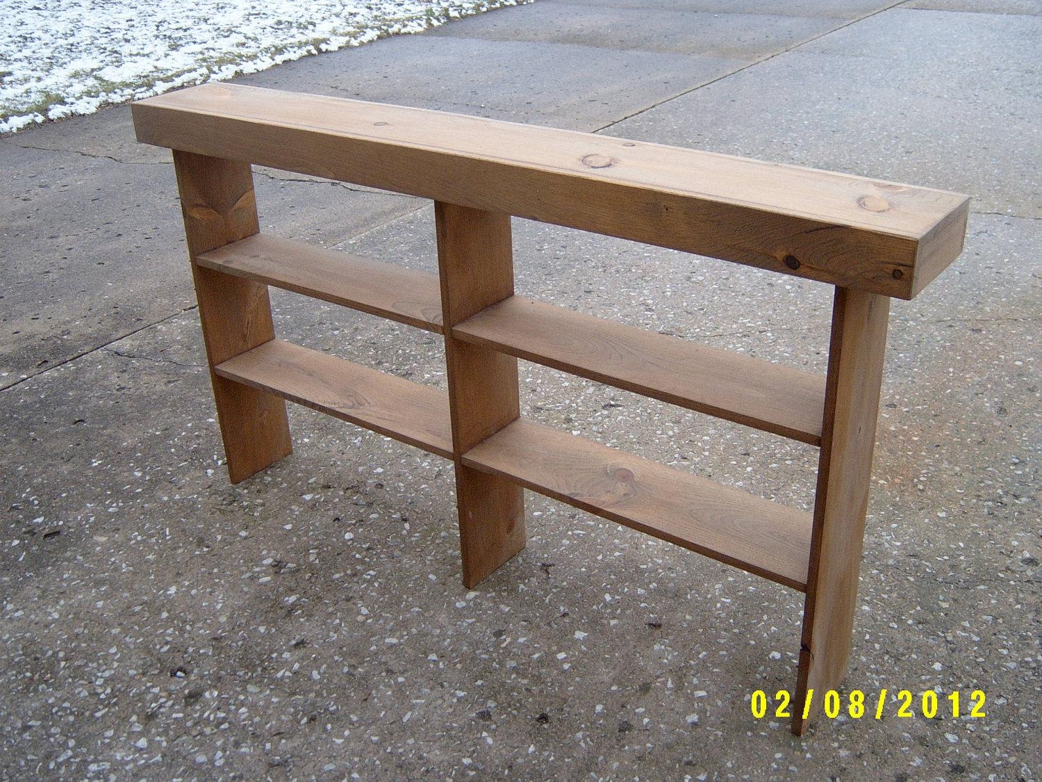 Console Table Sofa Table Entryway Table Narrow Recycled Inside Slim Sofa Tables (Image 5 of 20)
