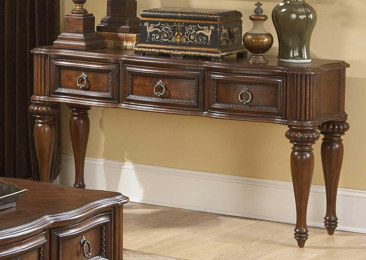Console Tables With Drawers 84 Cool Ideas For Sofa Tables A Inside Sofa Table Drawers (View 14 of 20)