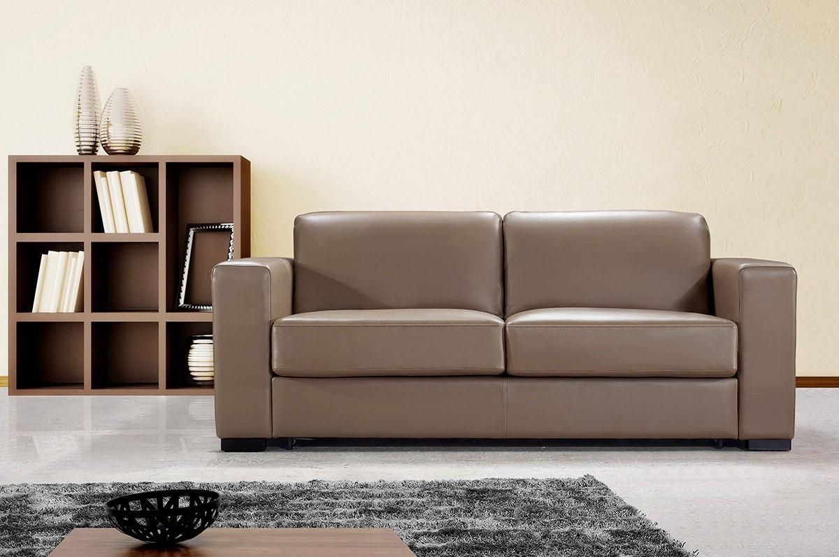 Contemporary Brown Leather Sofa | Sofa Gallery | Kengire In Contemporary Brown Leather Sofas (View 3 of 20)