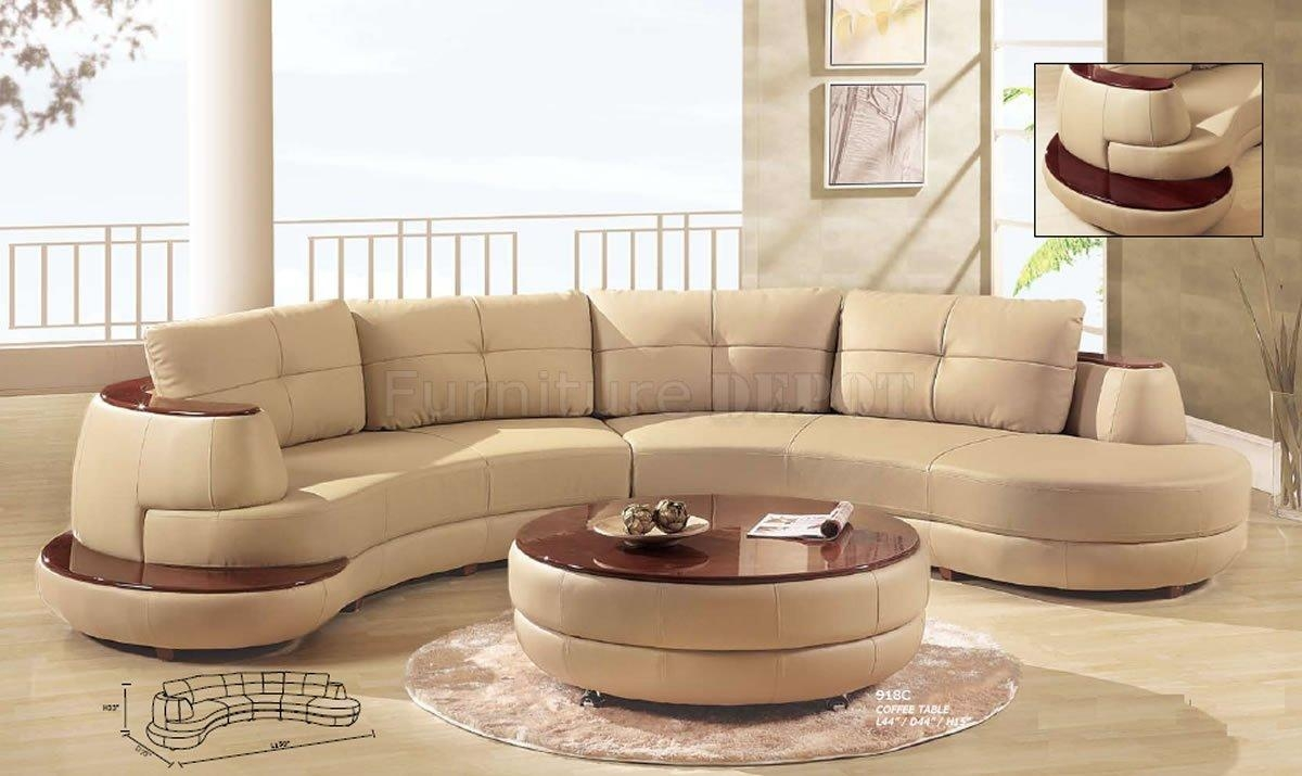 Contemporary Couches And Sofas Inside Beige Leather Couches (Image 6 of 20)