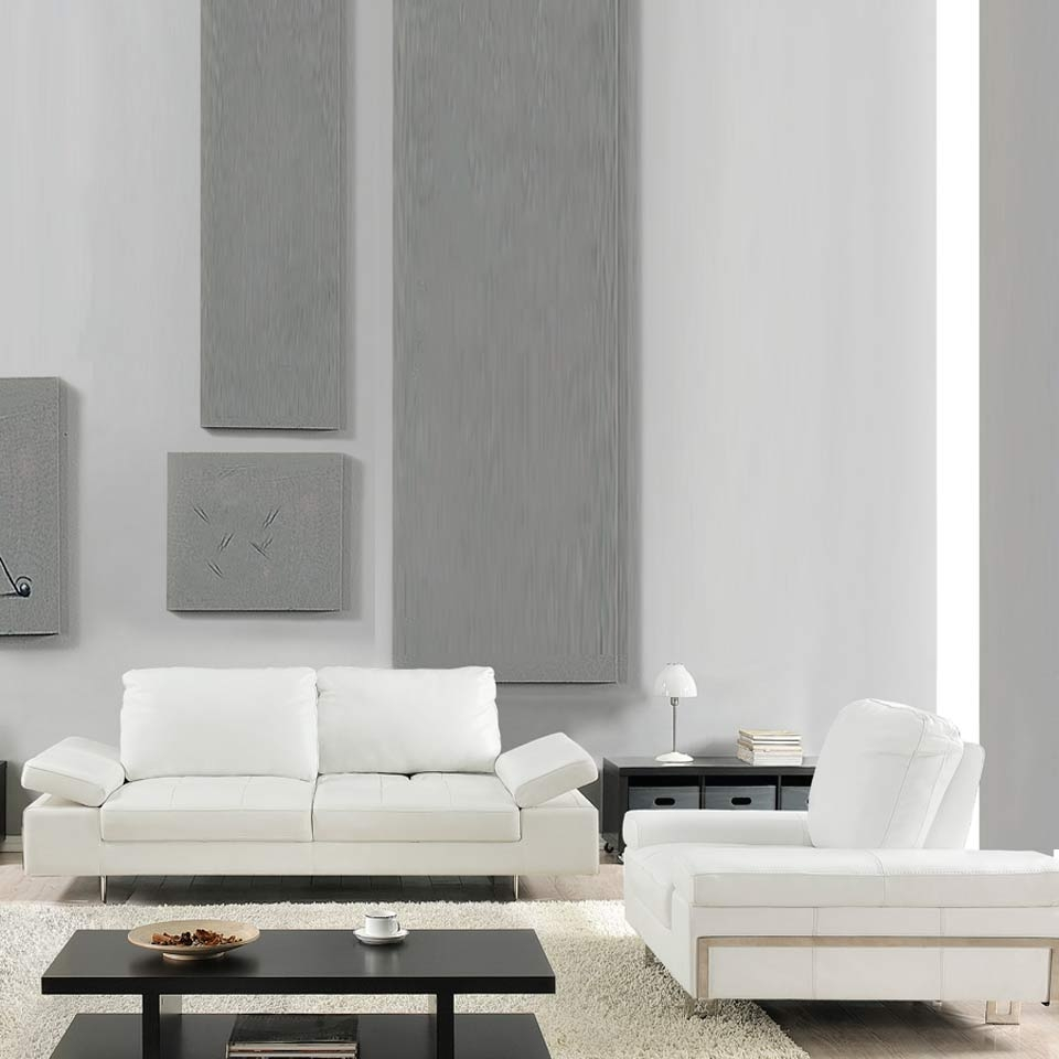 Contemporary Furniture | Nyc Furniture | Furniture Center Ny Pertaining To White Modern Sofas (Image 4 of 20)