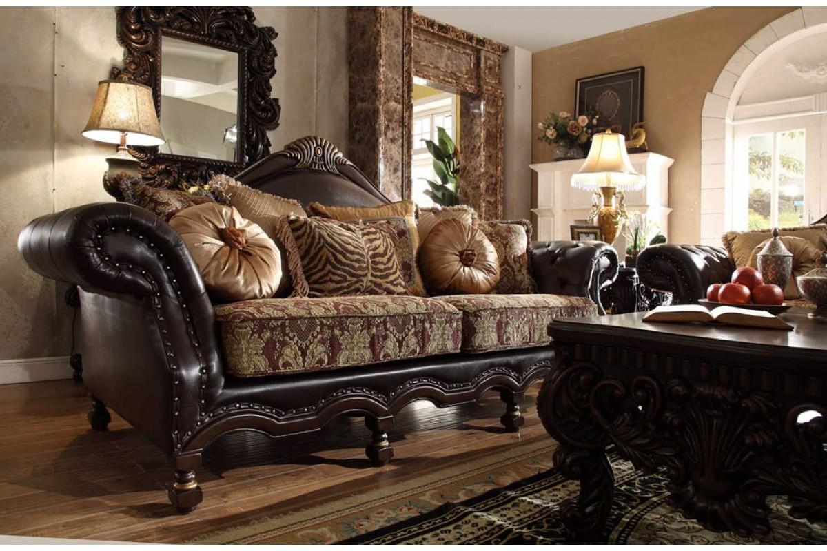 Contemporary & Luxury Furniture; Living Room, Bedroom,la Furniture In Traditional Fabric Sofas (View 19 of 20)