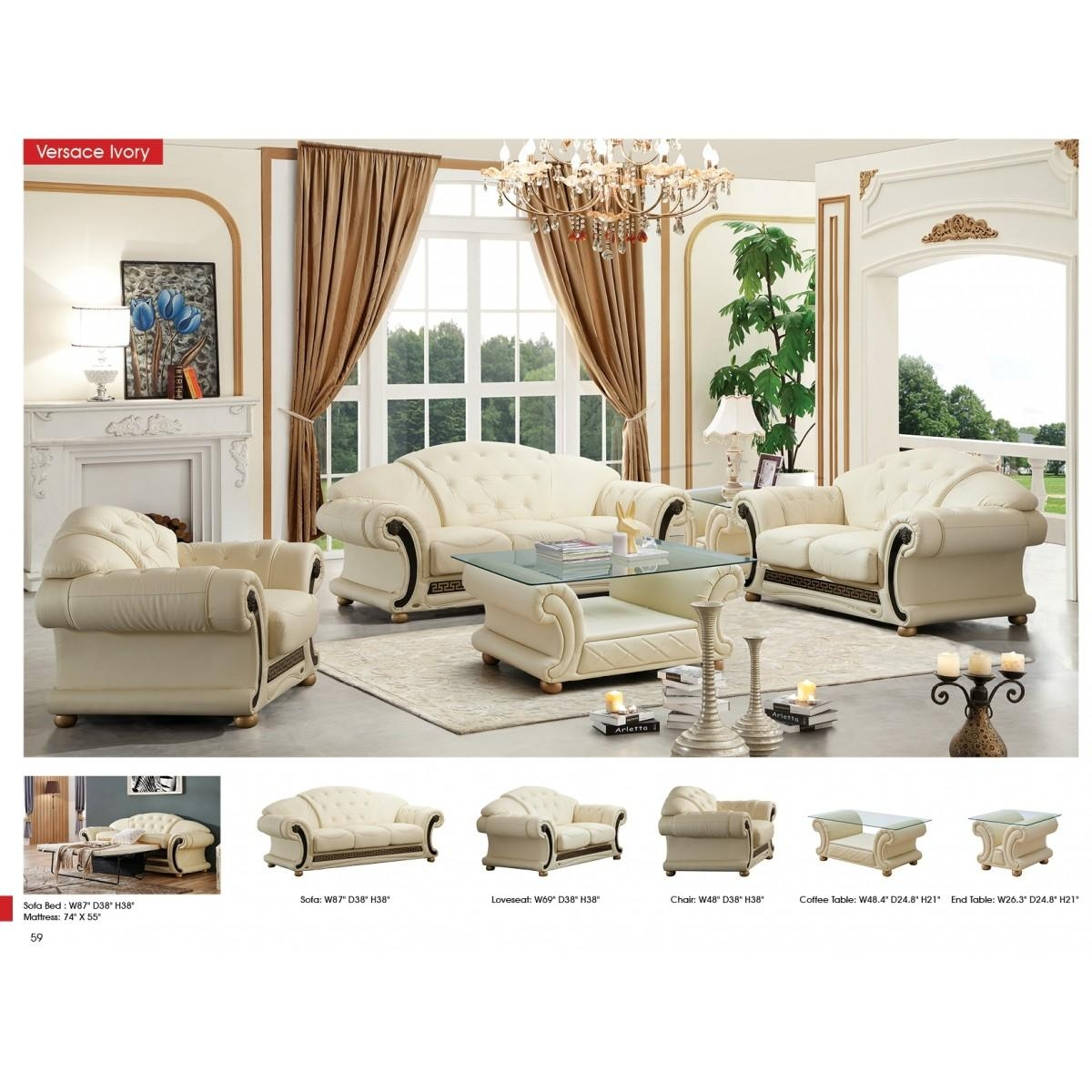 Contemporary & Luxury Furniture; Living Room, Bedroom,la Furniture Inside Cleopatra Sofas (Image 11 of 20)