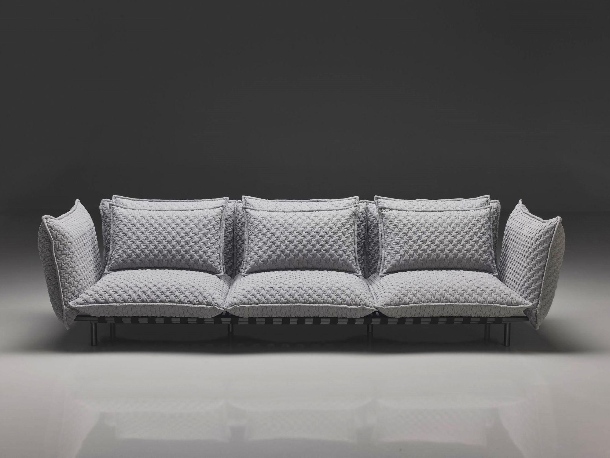 Contemporary Sofa / Fabric / 2 Seater / With Removable Cover In Sofa With Removable Cover (View 19 of 20)