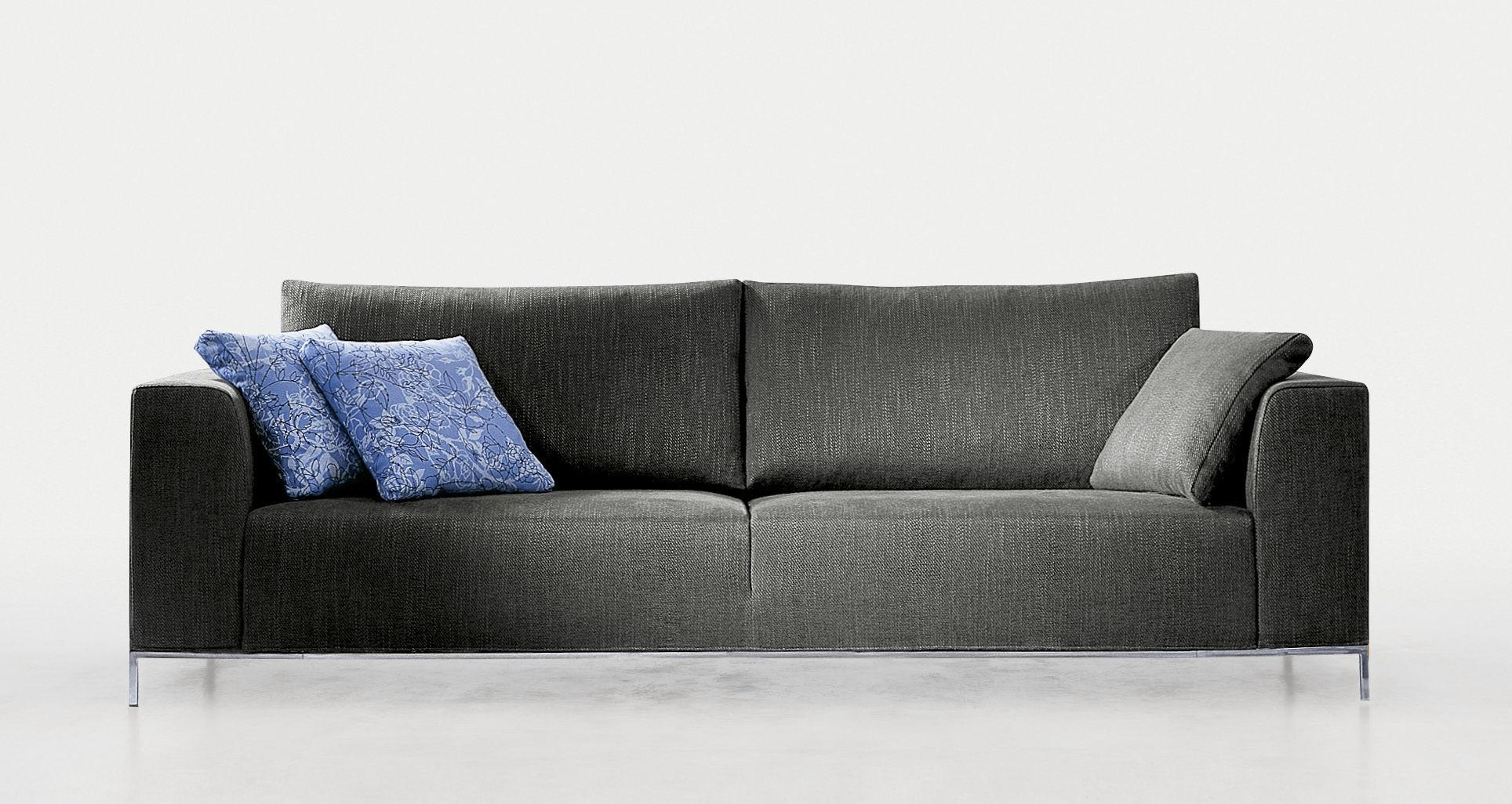 Contemporary Sofa / Fabric / 2 Seater / With Removable Cover With Regard To Sofas With Removable Covers (View 8 of 20)