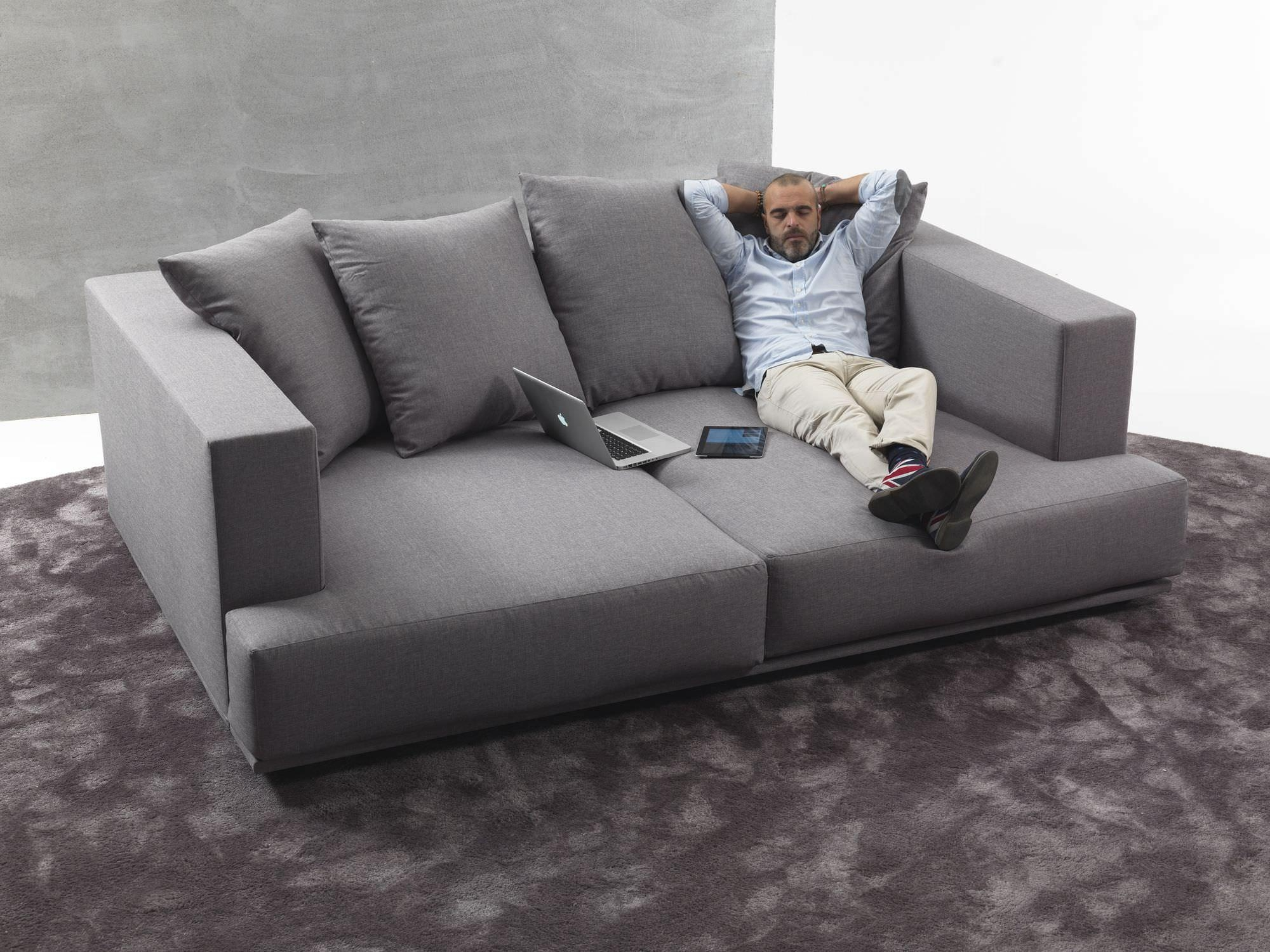 Contemporary Sofa / Fabric / 2 Seater / With Washable Removable In Washable Sofas (Image 3 of 20)