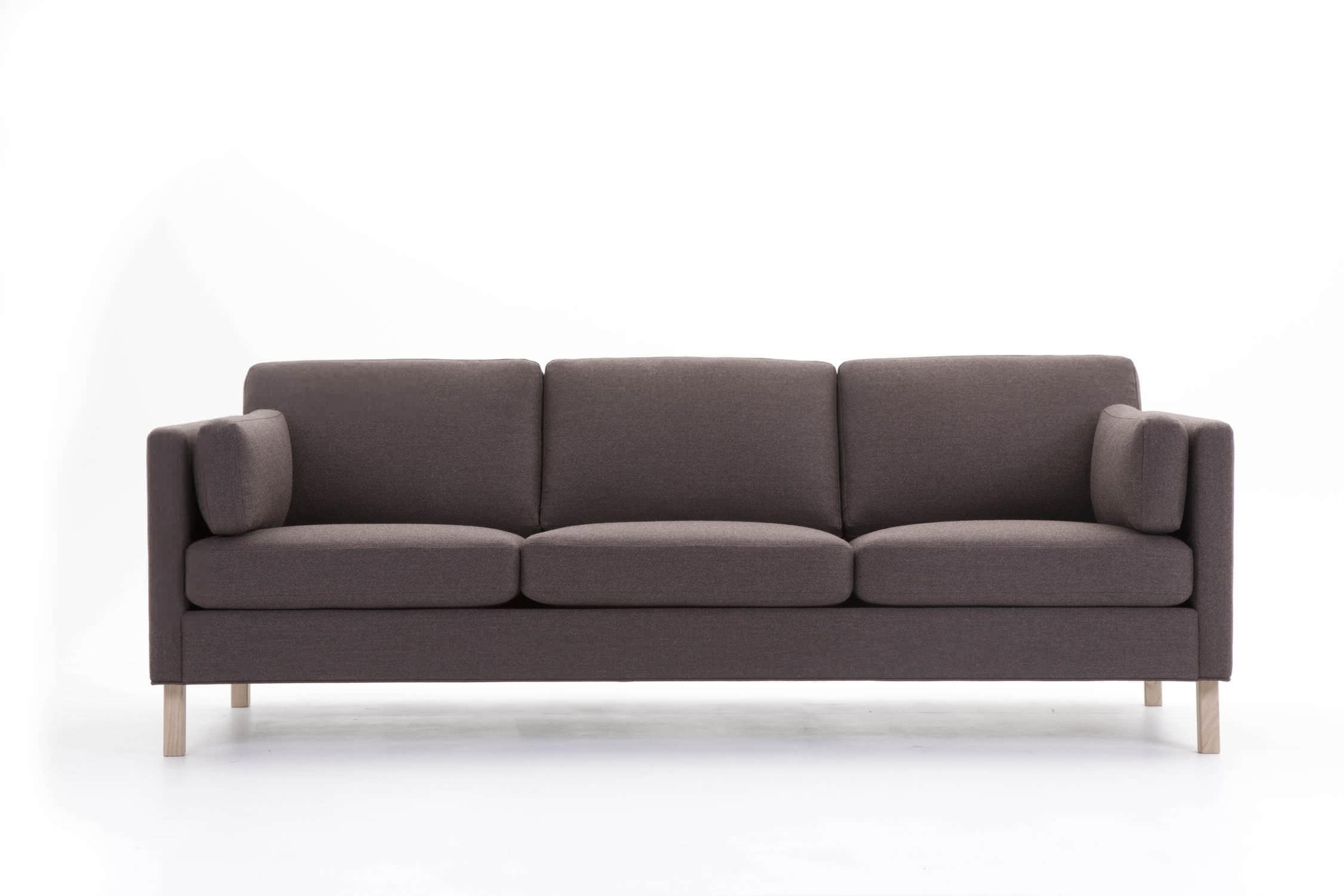 Contemporary Sofa / Fabric / 3 Seater / With Removable Cover Throughout Sofa With Removable Cover (View 3 of 20)