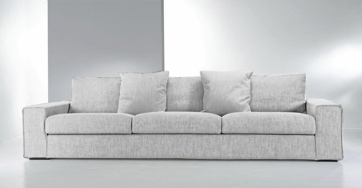 Contemporary Sofa / Fabric / 3 Seater / With Washable Removable With Regard To Sofas With Removable Covers (View 16 of 20)
