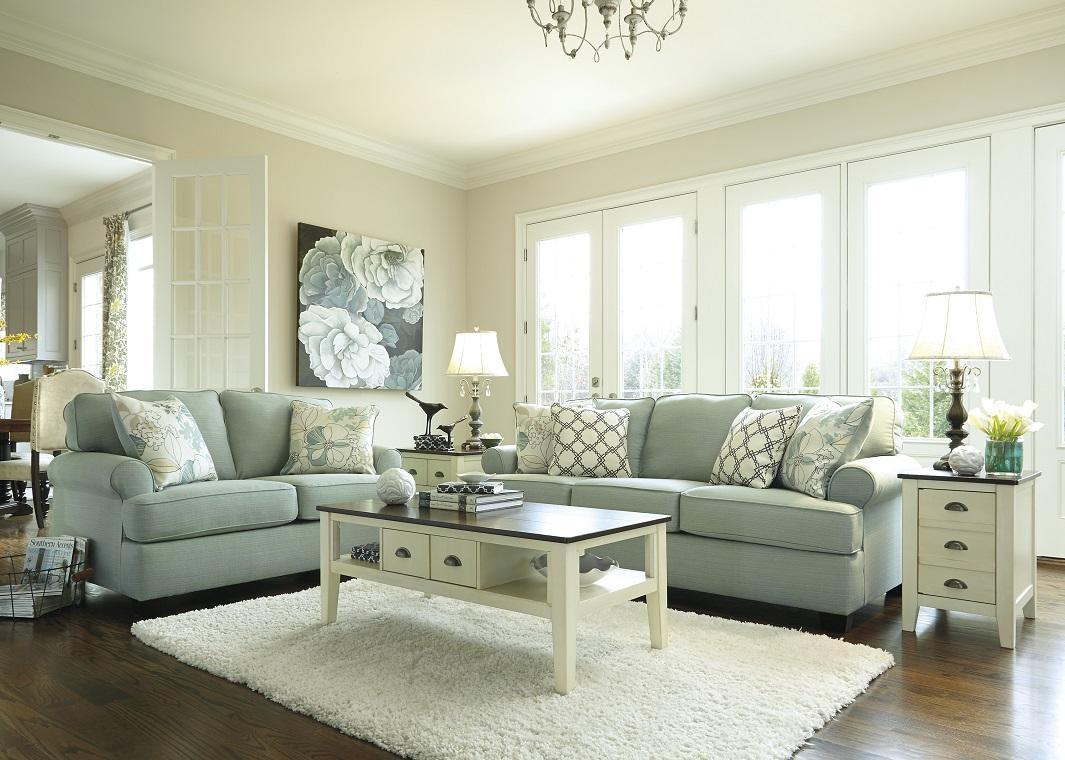 Contemporary Sofa In Seafoam Inside Seafoam Green Sofas (Image 3 of 20)