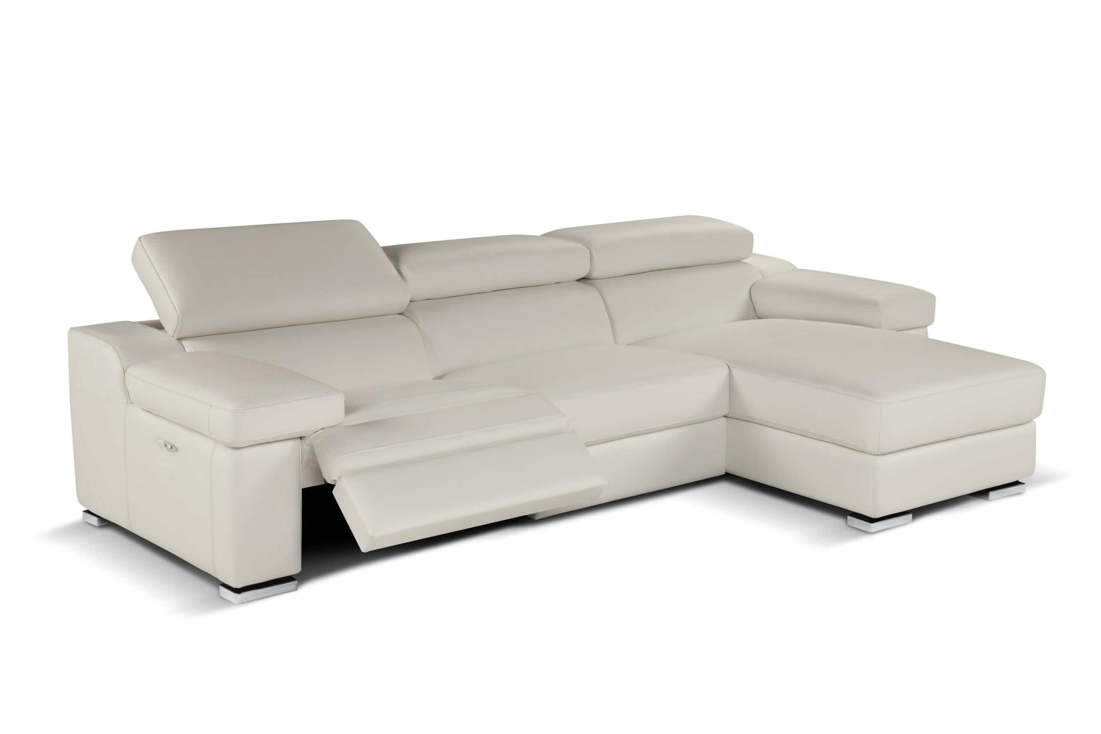 Contemporary Sofa / Leather / 2 Seater / Reclining – Rebecca With Modern Reclining Leather Sofas (Image 1 of 20)