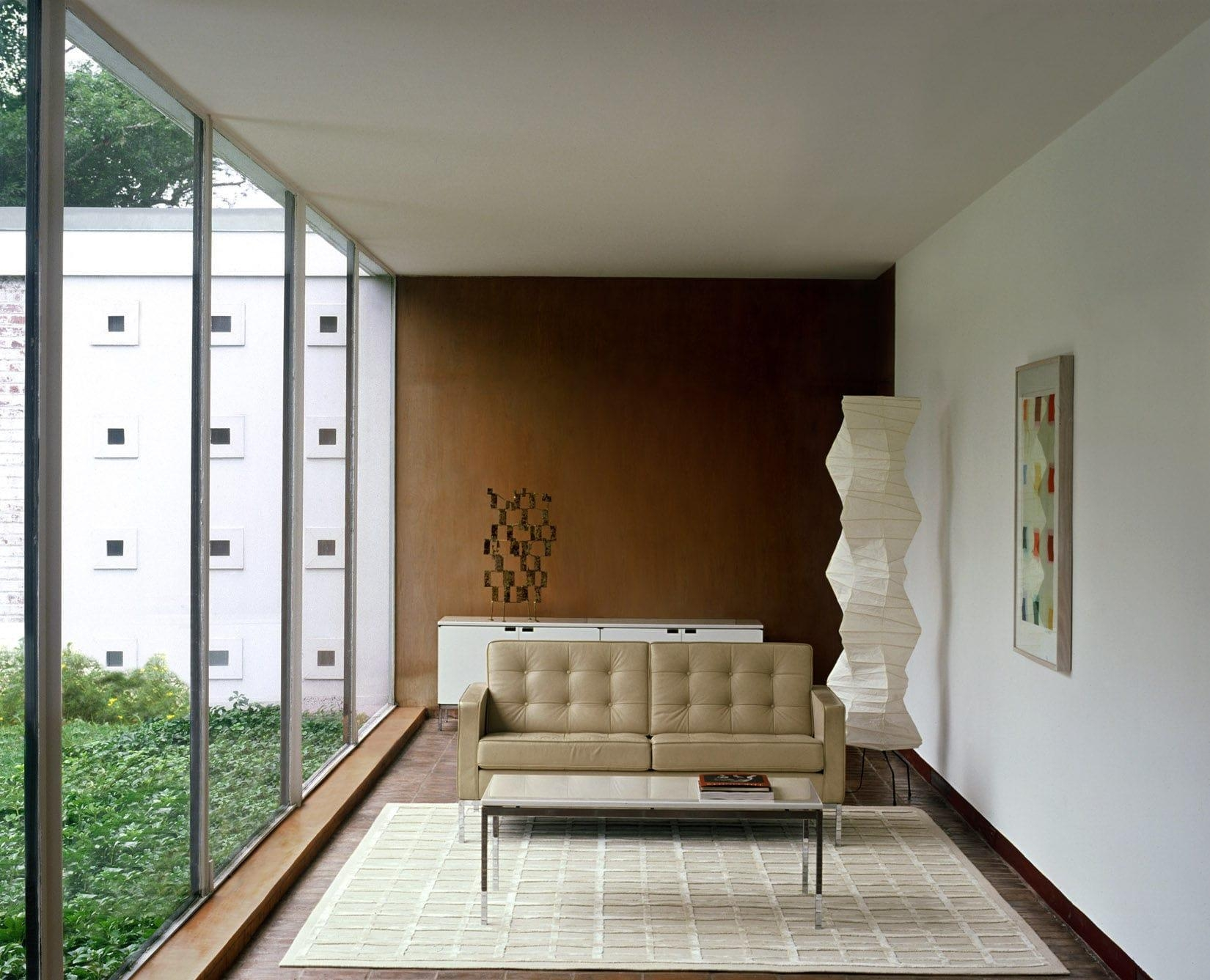 Contemporary Sofa / Leather / Fabric /florence Knoll – Knoll Pertaining To Florence Knoll Fabric Sofas (Image 3 of 20)