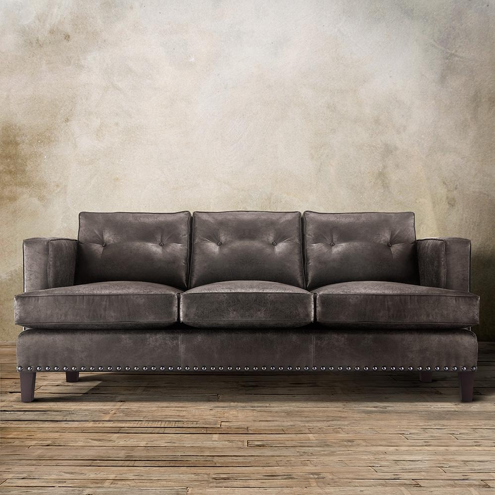 Contemporary Types Of Colours For Leather Sofa — New Lighting New For Arhaus Leather Sofas (Image 18 of 20)