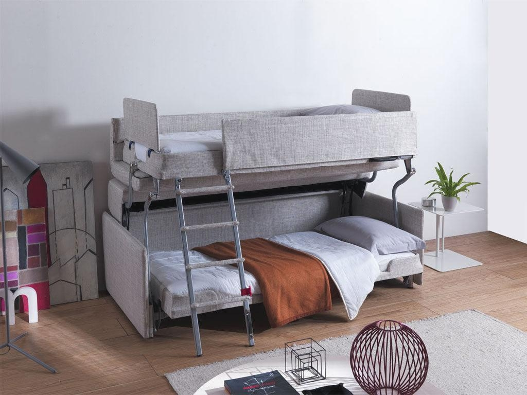 Convertible Bunk Bed Couches | Transforming Furniture Intended For Sofa Bunk Beds (Image 5 of 20)