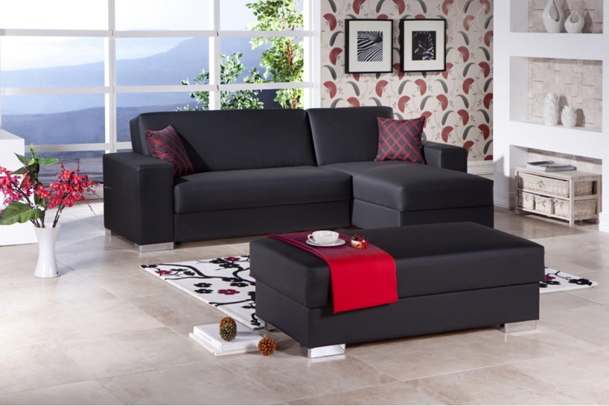 Convertible Sectional Sofas – Leather Sectional Sofa Inside Convertible Sectional Sofas (Image 4 of 15)