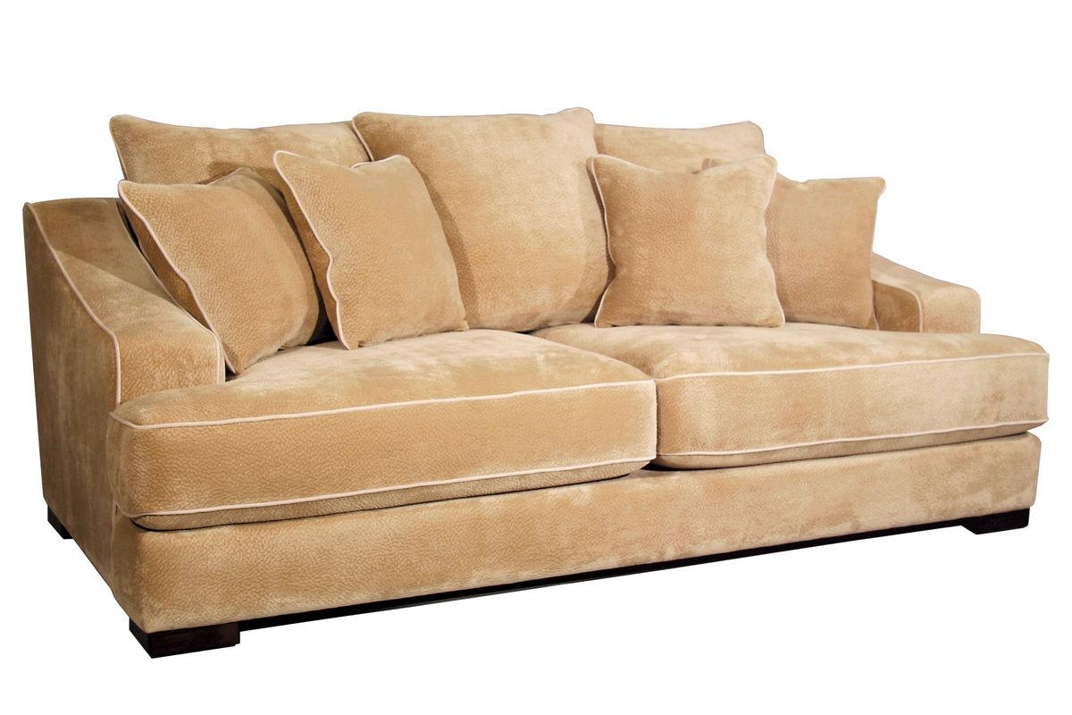 Cooper Microfiber Sofa For Microsuede Sofa Beds (Image 3 of 20)