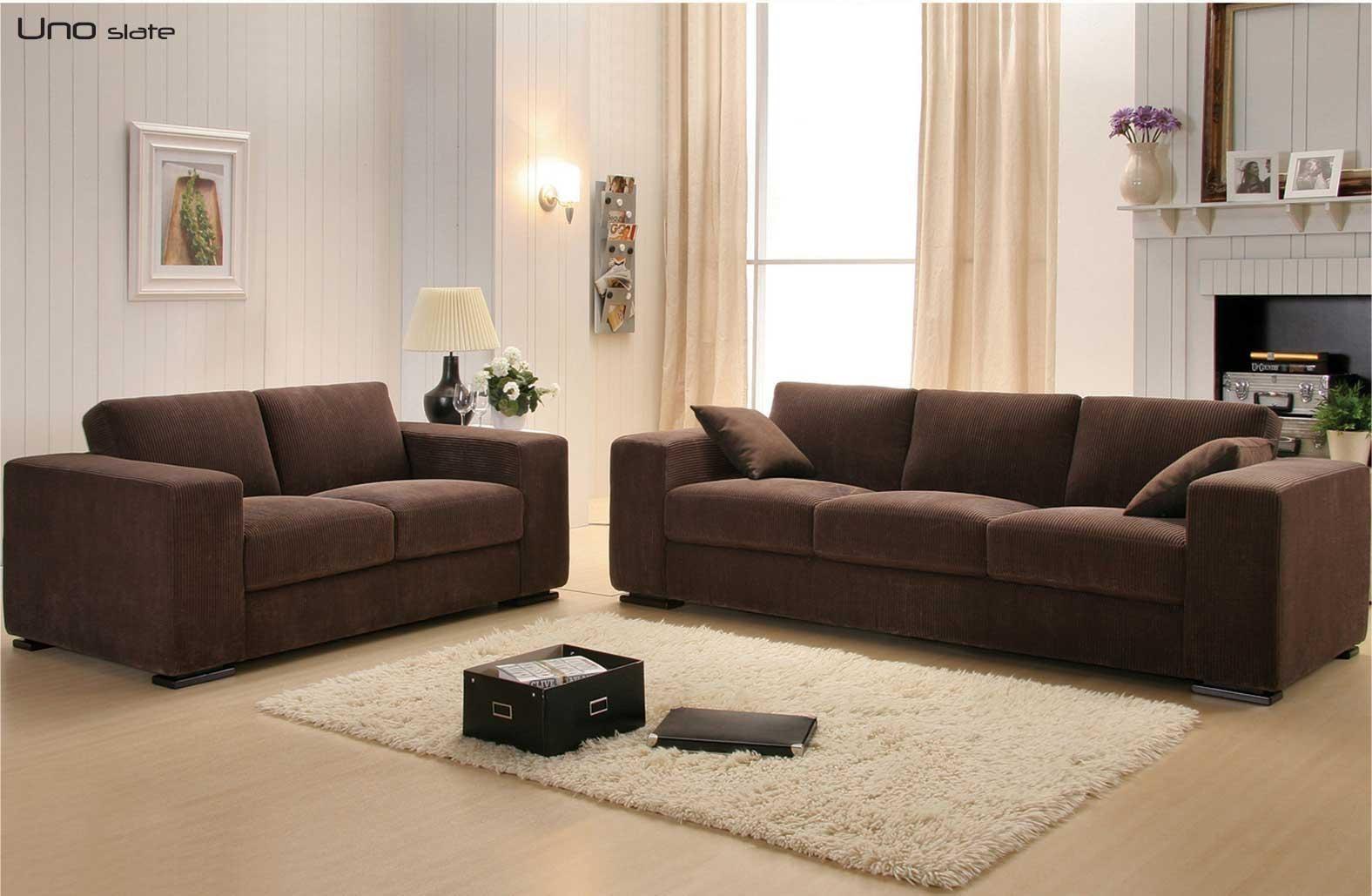 Corduroy Sofa | Teabiz With Brown Corduroy Sofas (View 3 of 20)