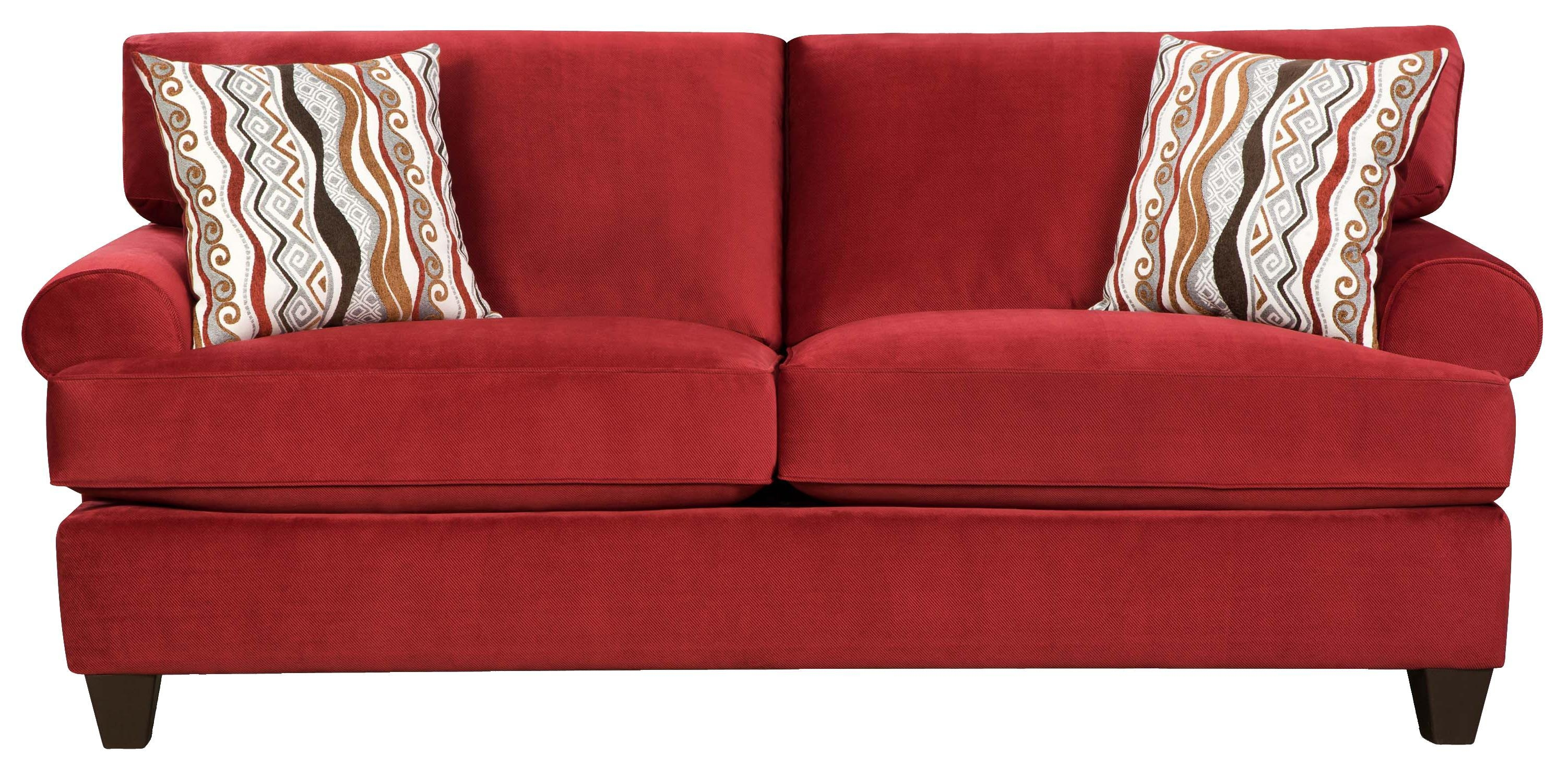 Corinthian 47B0 Casual And Contemporary Living Room Sofa – Vandrie Throughout Corinthian Sofas (Image 5 of 20)