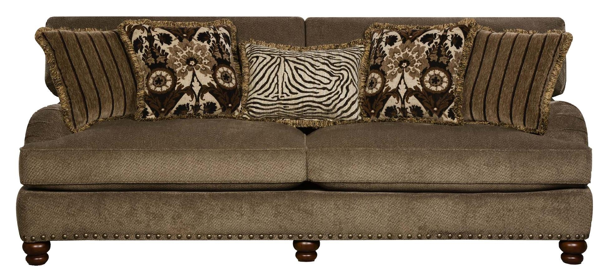 Corinthian Prodigy Prodigy Mink Sofa – Great American Home Store Throughout Corinthian Sofas (View 5 of 20)