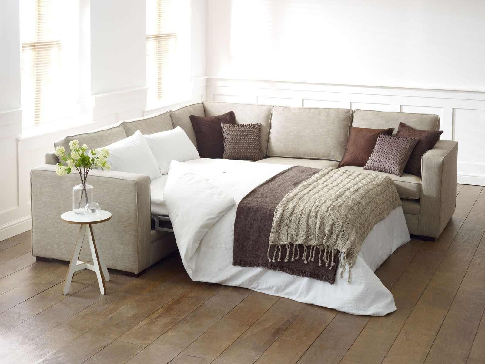 Corner Sleeper Sofa With Design Photo 8595 | Kengire Regarding Corner Sleeper Sofas (Image 6 of 20)