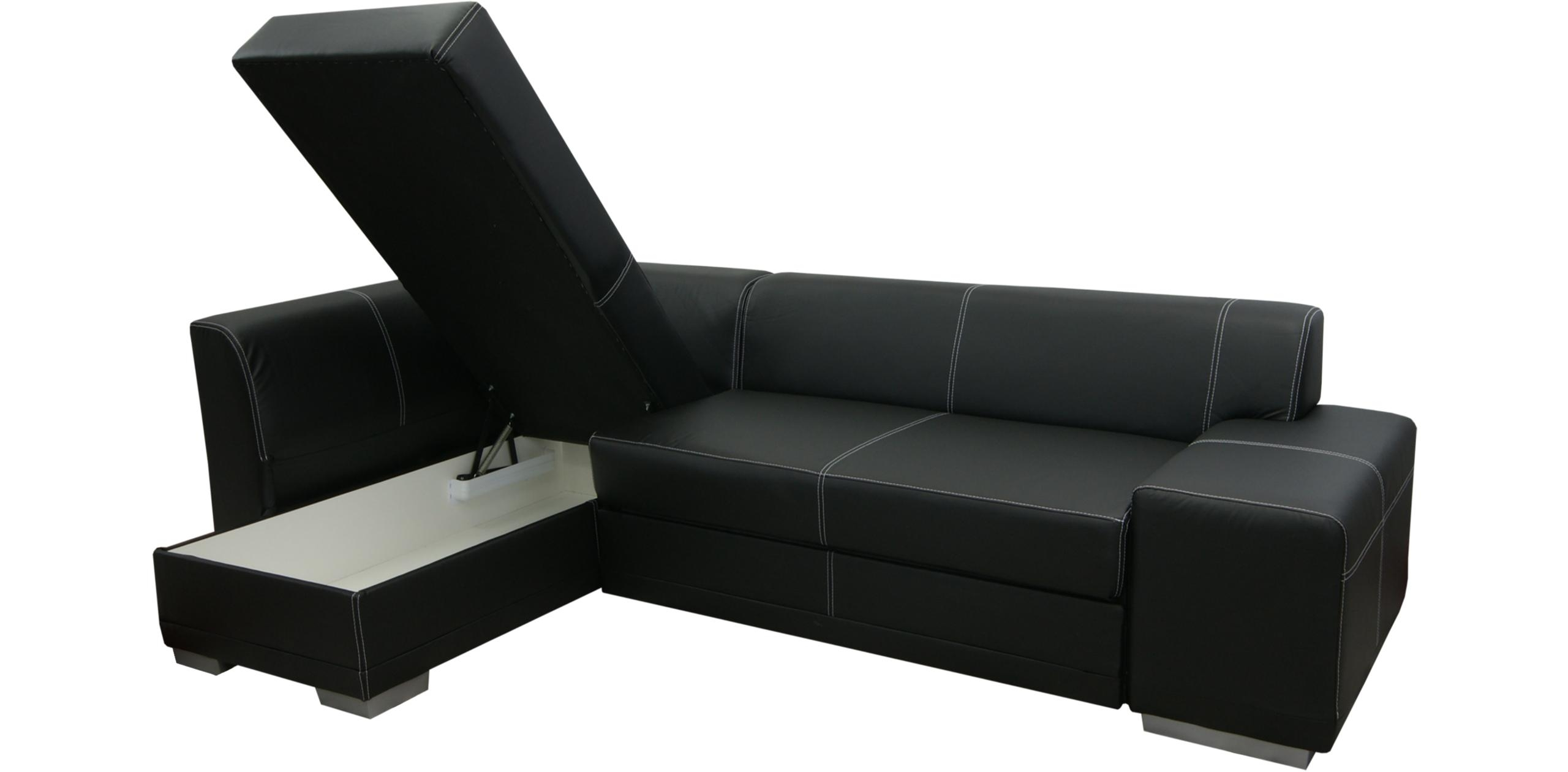 Corner Sofa Bed Second Hand – Leather Sectional Sofa With Regard To Cheap Corner Sofa Beds (Image 6 of 20)