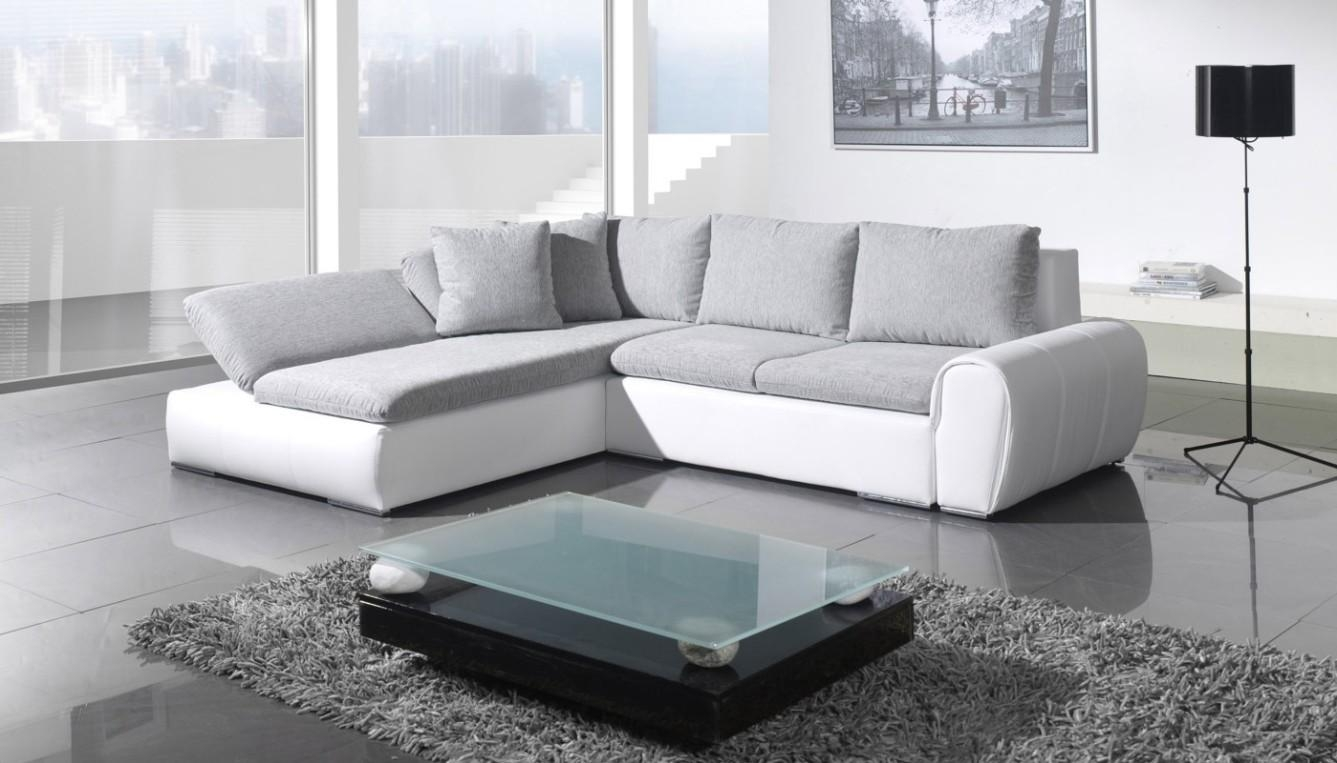 Corner Sofa Bed Style For New Home Design | Eva Furniture Throughout Leather Corner Sofa Bed (Image 4 of 20)