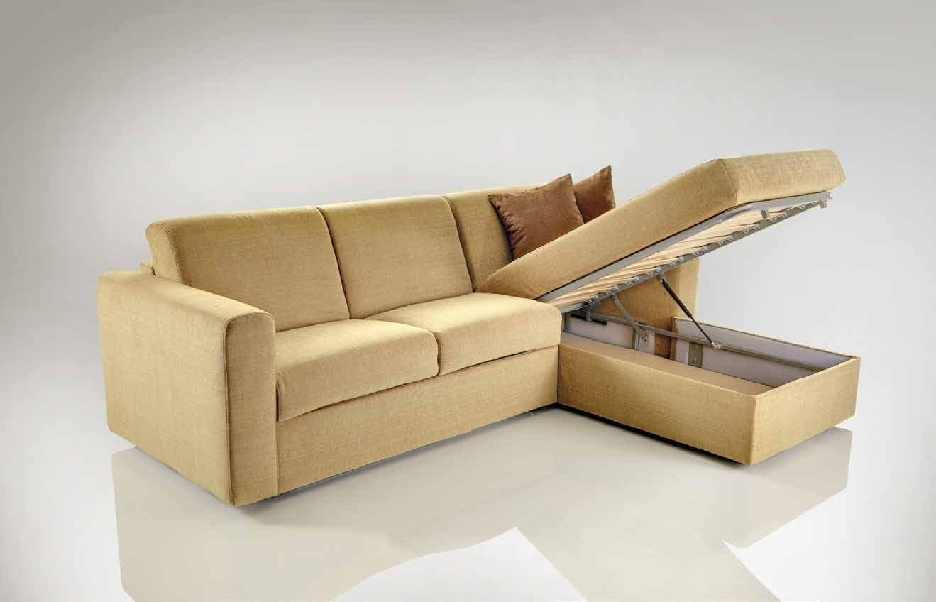 Corner Sofa Bed With Storage | Corner Sofa With Bed And Storage In Leather Sofa Beds With Storage (Image 7 of 20)