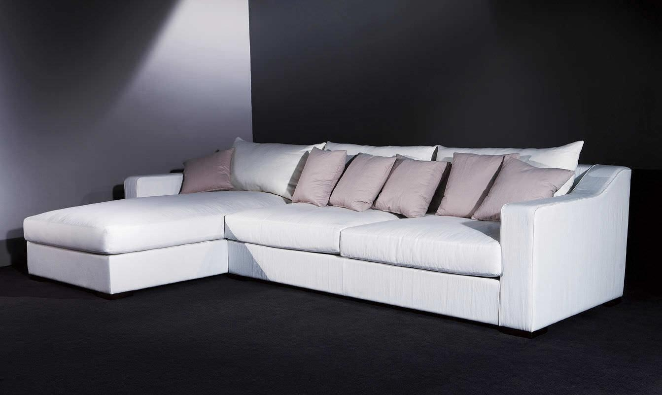 Corner Sofa / Contemporary / Fabric / 7 Seater And More – Monroe Intended For Long Chaise Sofa (View 15 of 20)