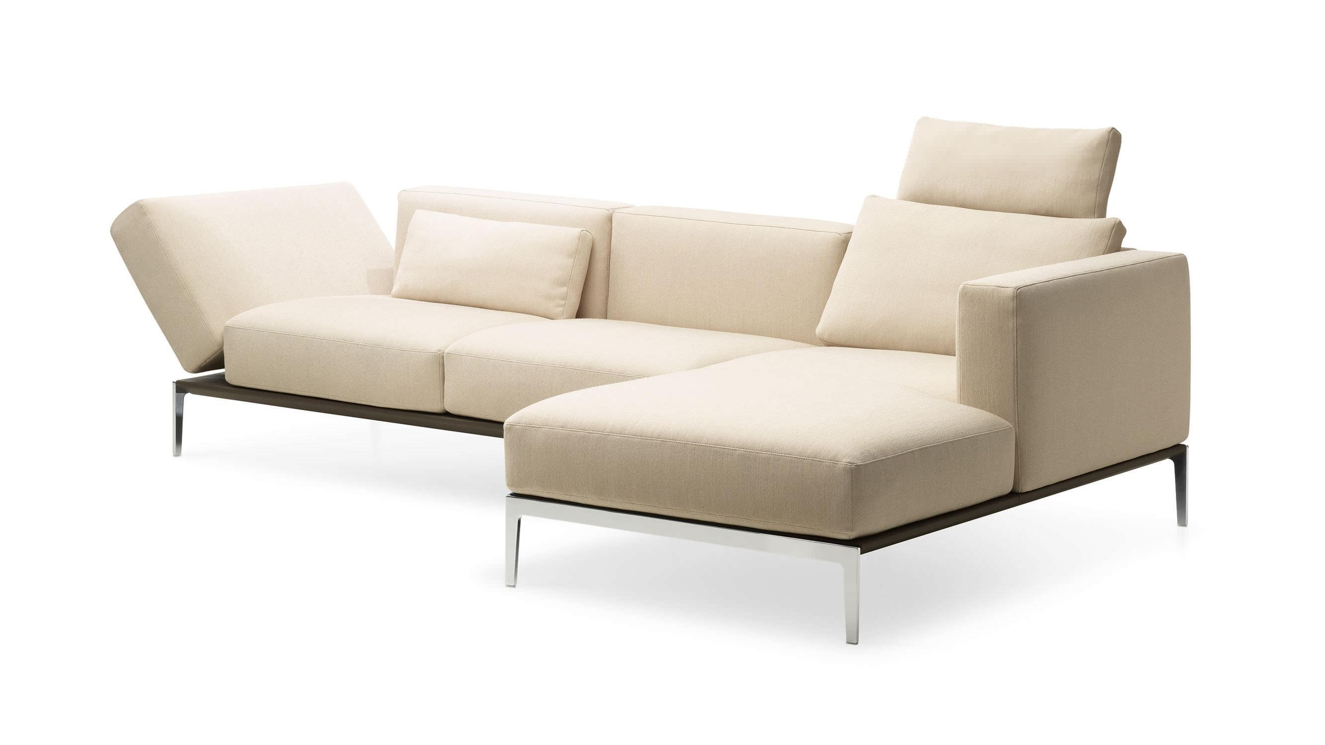 Corner Sofa / Modular / Contemporary / Leather – 1343 Piu For Modular Corner Sofas (View 17 of 20)