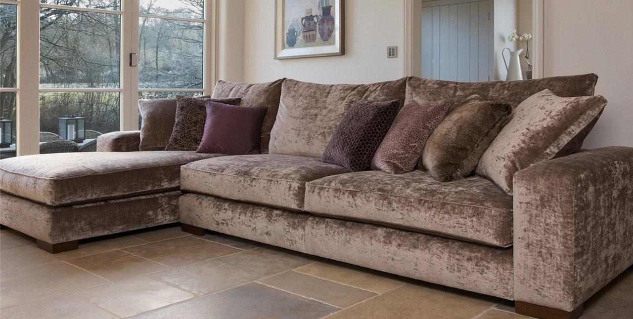 Corner Sofas In Kent | Lenleys Of Canterbury | Lenleys Regarding Corner Sofas (Image 9 of 20)