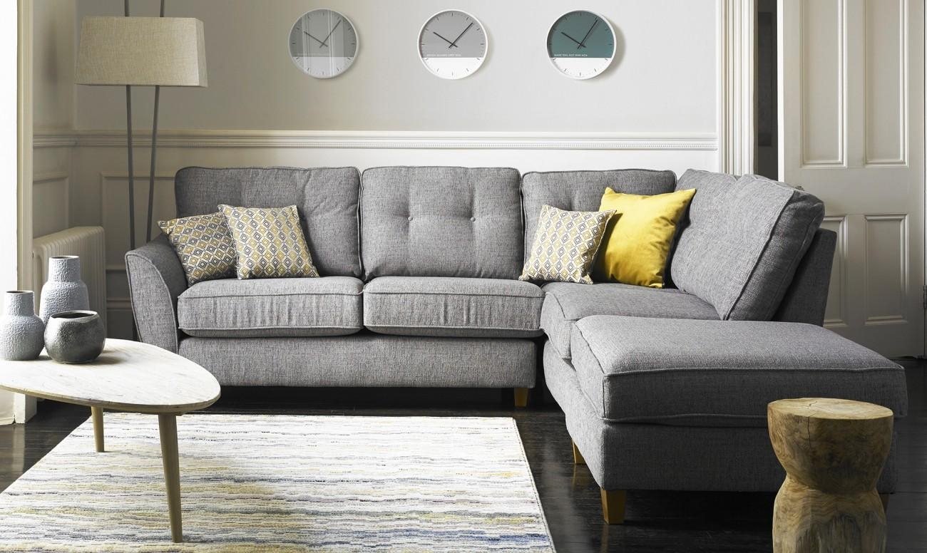 Corner Sofas In Leather & Fabric For Sale At Fishpools With Regard To Corner Sofas (Image 10 of 20)