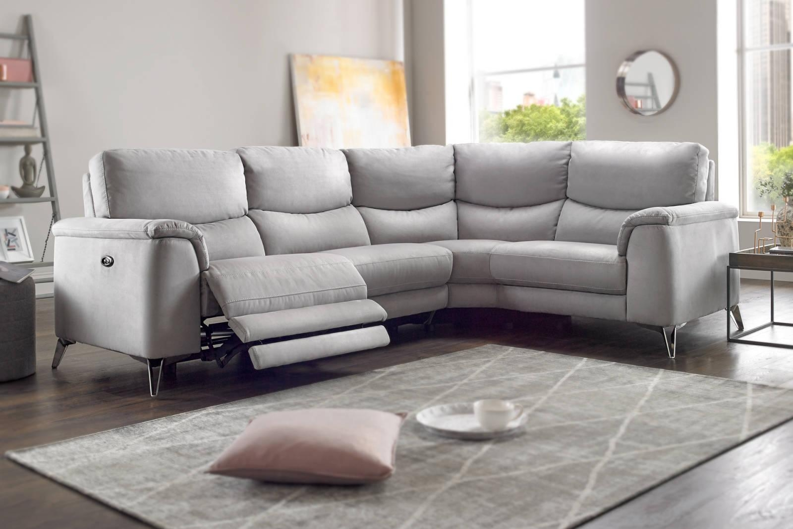 Corner Sofas In Leather, Fabric | Sofology Inside Corner Sofa Leather (Image 5 of 20)