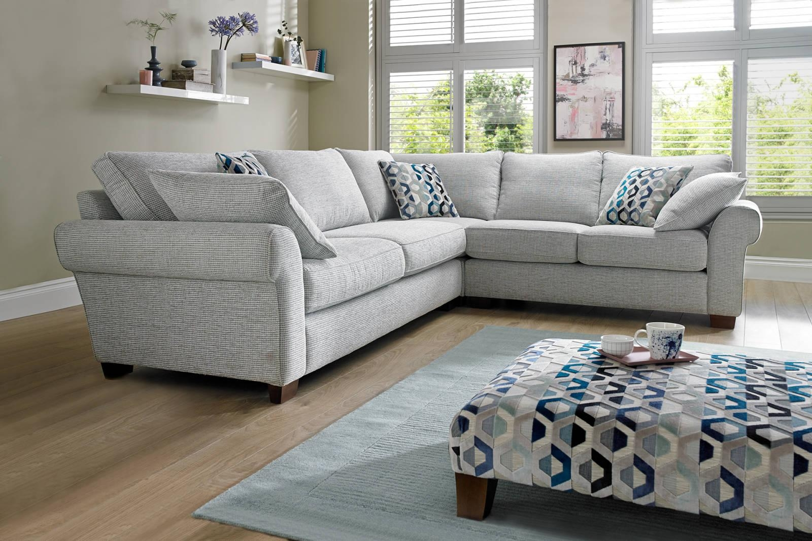 Corner Sofas In Leather, Fabric | Sofology With Regard To Leather Corner Sofas (Image 8 of 20)