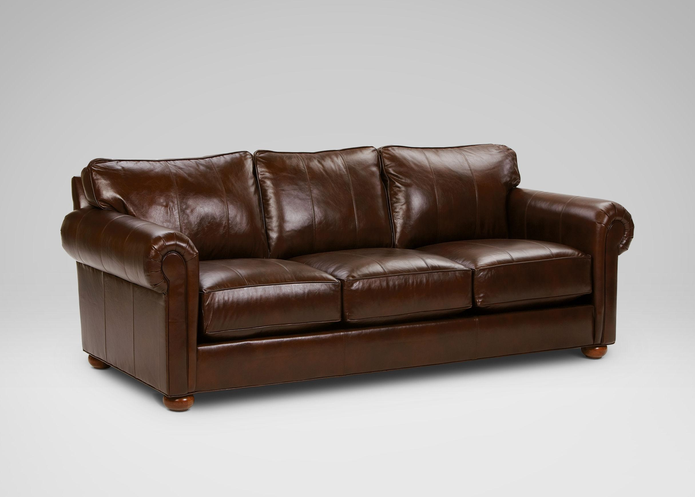 Costco Leather Sofa (Image 1 of 20)