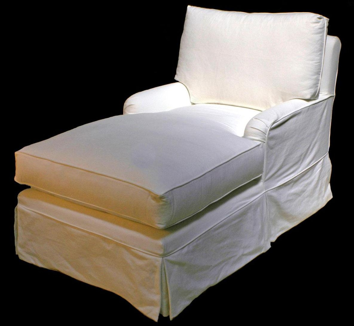 Cottage Haven Collection – Slipcovered & Upholstered – Chaises Within Slipcovered Chaises (Image 9 of 20)