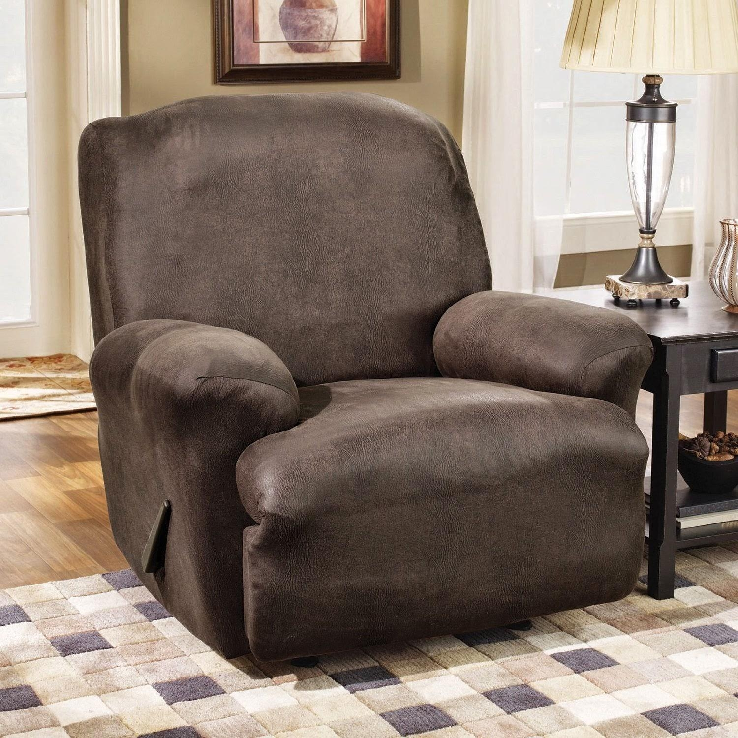 Couch Slipcovers For Reclining Sofa – Laura Williams With Regard To Slipcover For Recliner Sofas (Image 4 of 20)