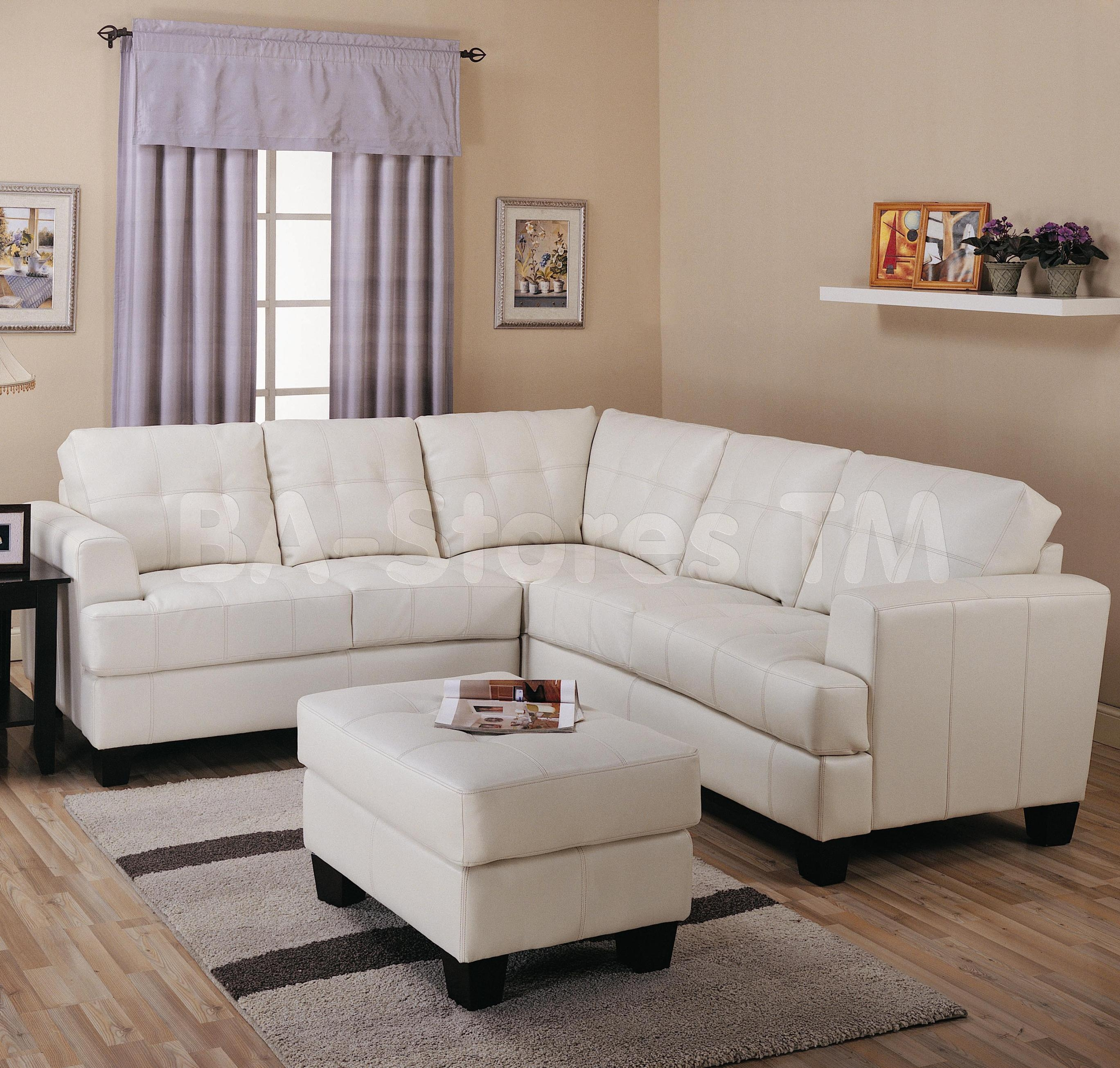 Cream Leather Sofa And Loveseat | Tehranmix Decoration Pertaining To Off White Leather Sofa And Loveseat (Image 3 of 20)