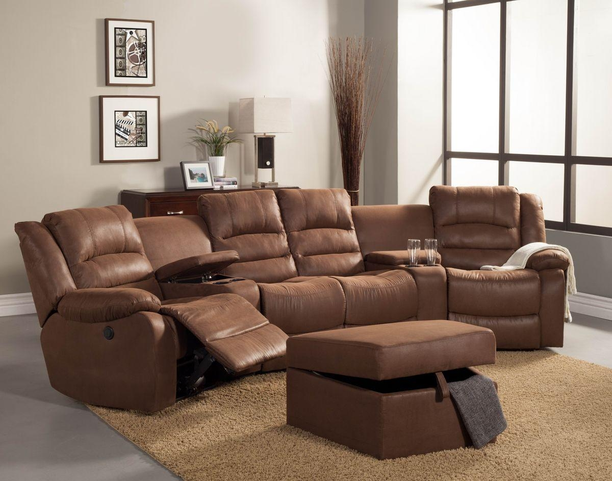 Curved Sectional Recliner Sofas – Tourdecarroll With Curved Sectional Sofas With Recliner (Image 1 of 20)